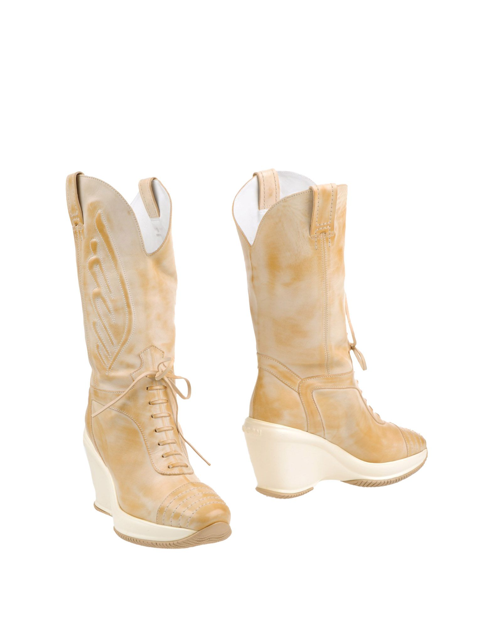 HOGAN by KARL LAGERFELD Полусапоги и высокие ботинки цены онлайн
