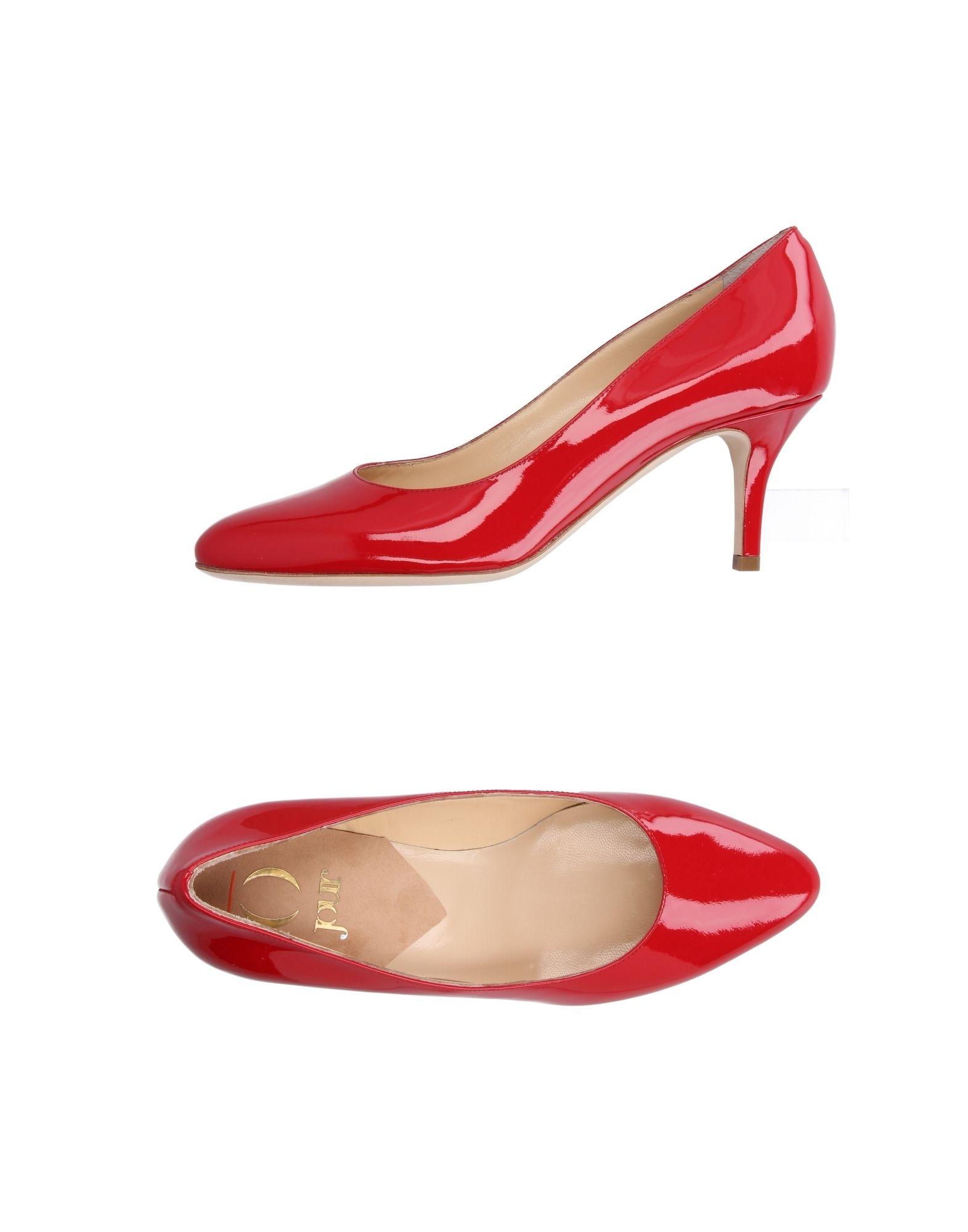 O JOUR Damen Pumps Farbe Rot Größe 7