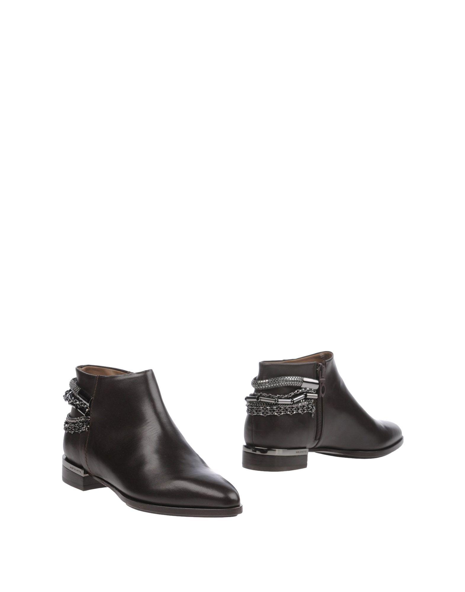 LUIS ONOFRE Полусапоги и высокие ботинки цены онлайн