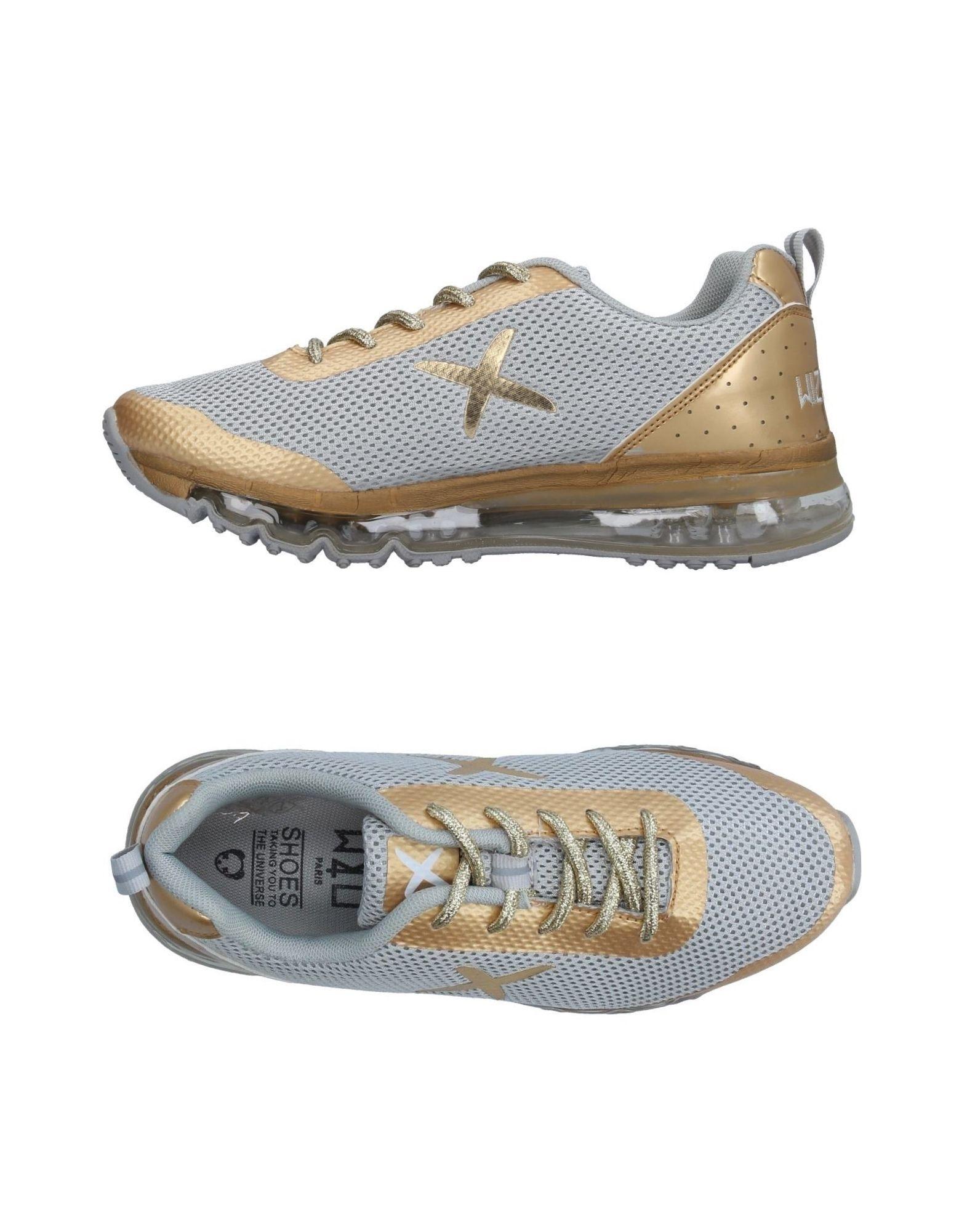 《送料無料》WIZE & OPE レディース スニーカー&テニスシューズ(ローカット) ゴールド 4.5 紡績繊維