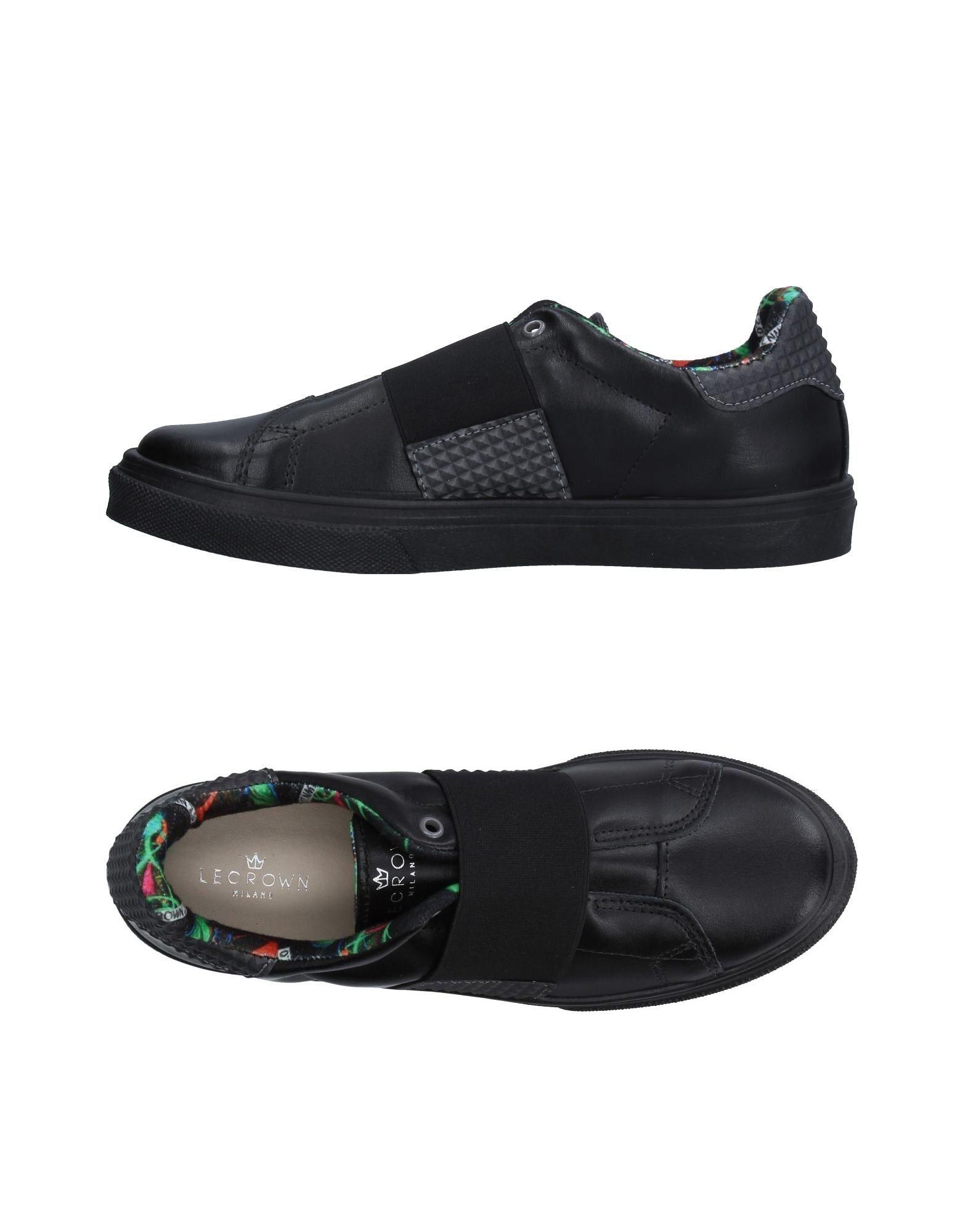 LE CROWN Низкие кеды и кроссовки кеды кроссовки низкие женские dc tonik w le black multi