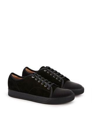 LANVIN DBB1 SUEDE CALFSKIN SNEAKER Sneakers U r