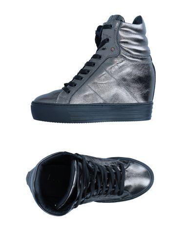 Фото - Высокие кеды и кроссовки от LEMARÉ свинцово-серого цвета