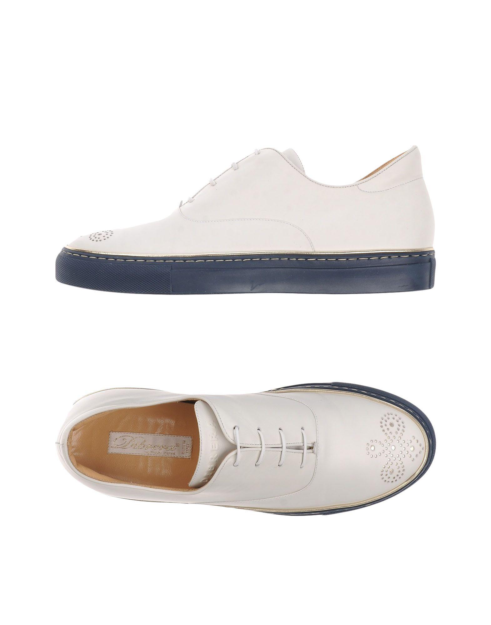 DIBRERA BY PAOLO ZANOLI Обувь на шнурках цены онлайн