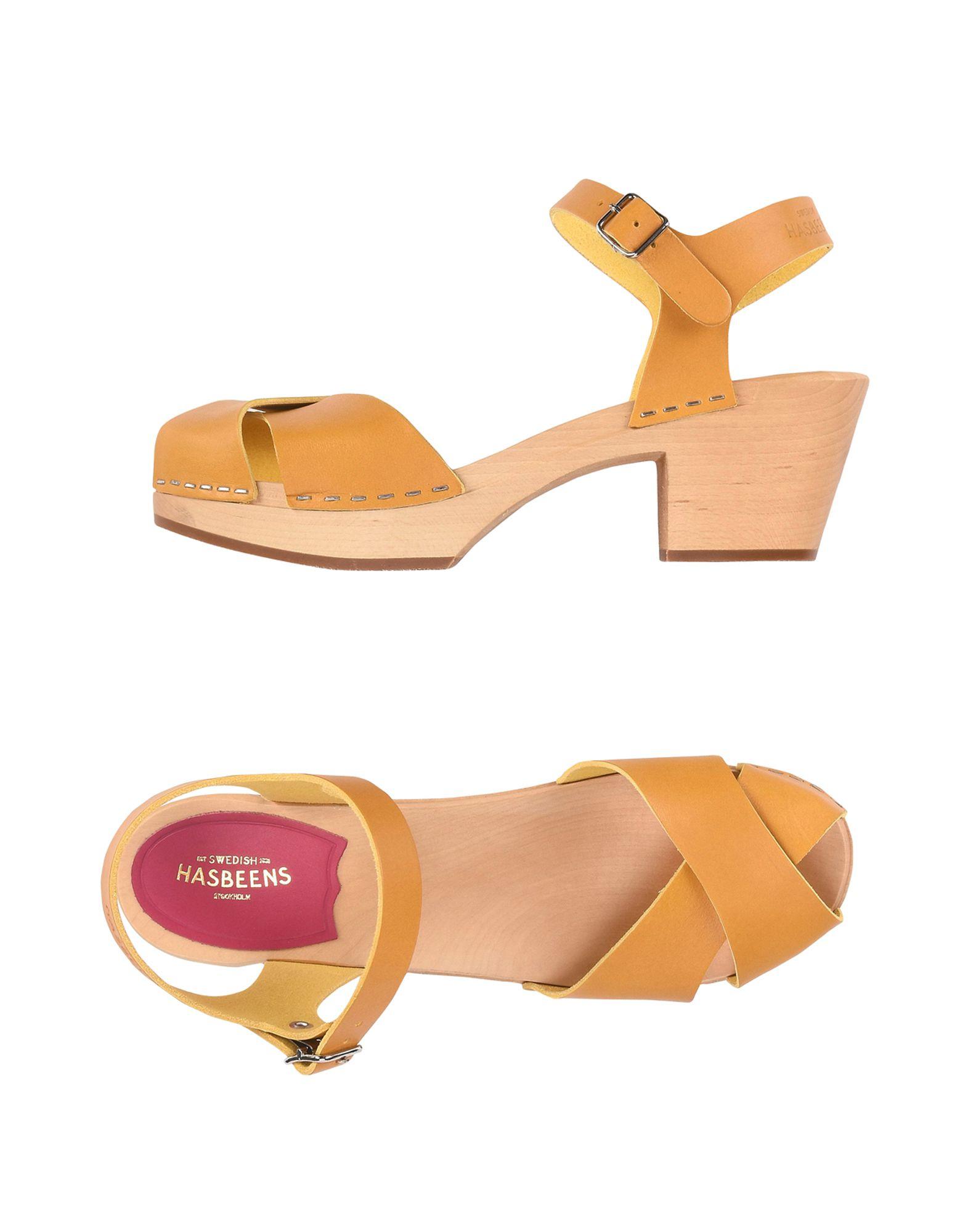 SWEDISH HASBEENS Sandals in Ocher