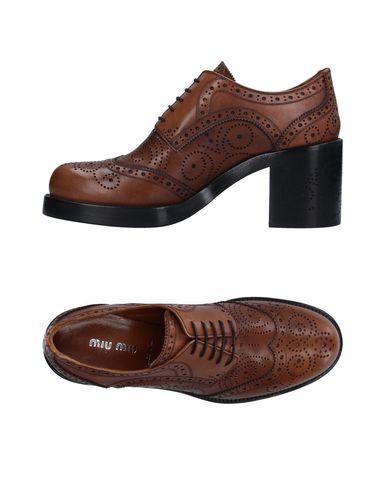 Обувь на шнурках MIU MIU 11234067OW