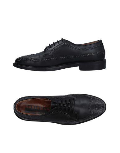GOLDEN GOOSE DELUXE BRAND Chaussures à lacets homme. inserts en métal, uni, pointe arrondie, doublure en cuir, semelle en cuir et caoutc