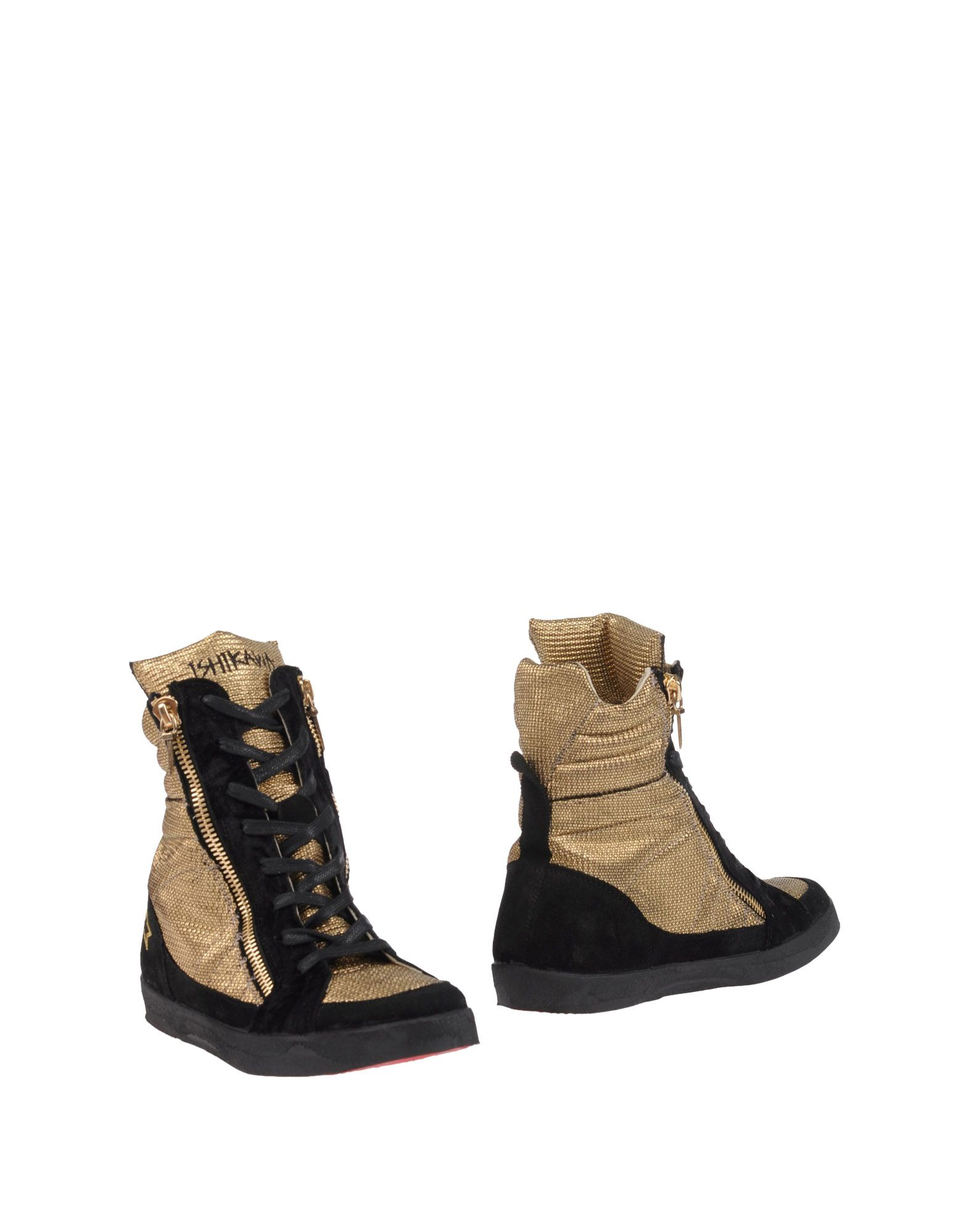 ISHIKAWA Ankle Boot in Gold