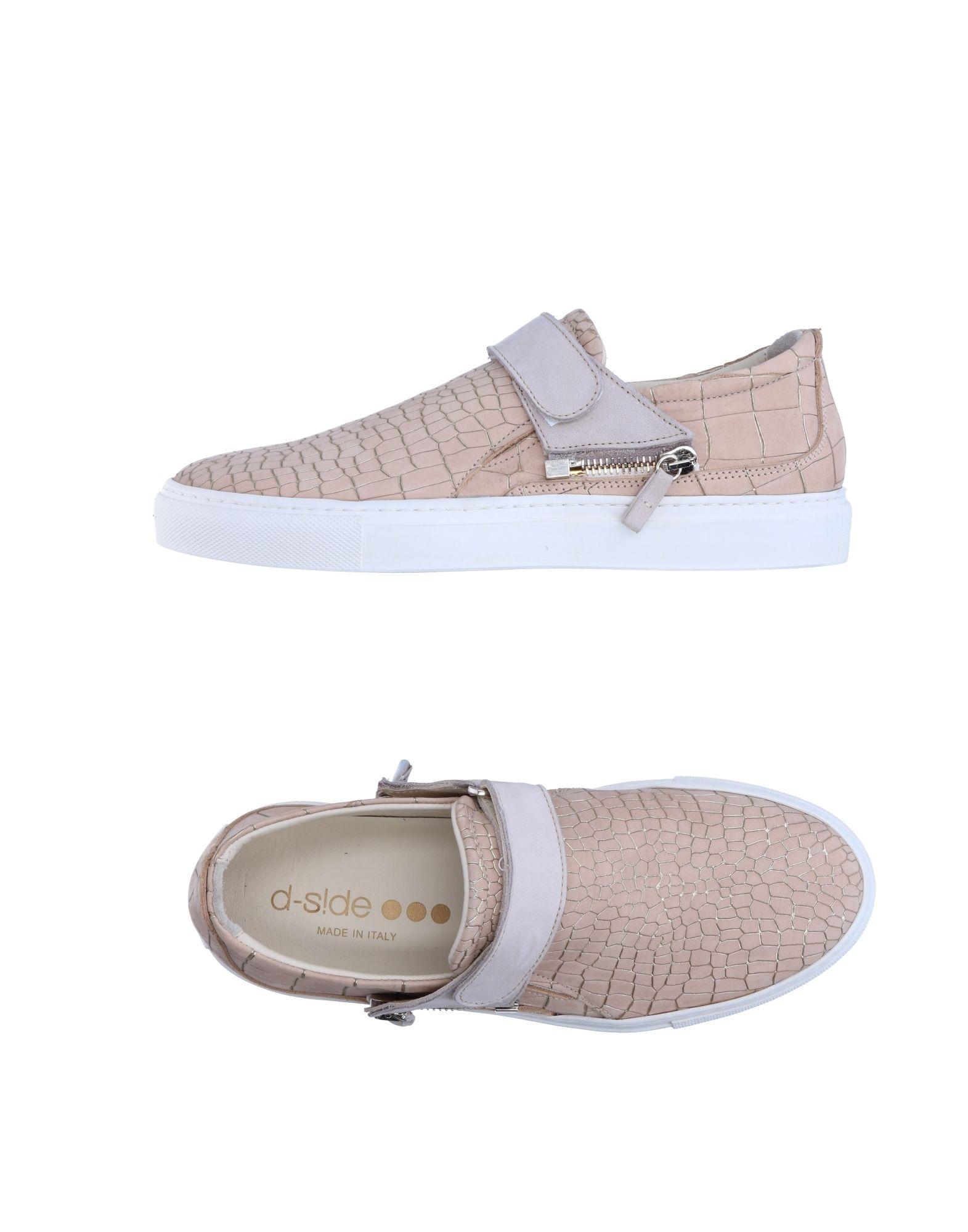D-S!DE Damen Low Sneakers & Tennisschuhe Farbe Beige Größe 5