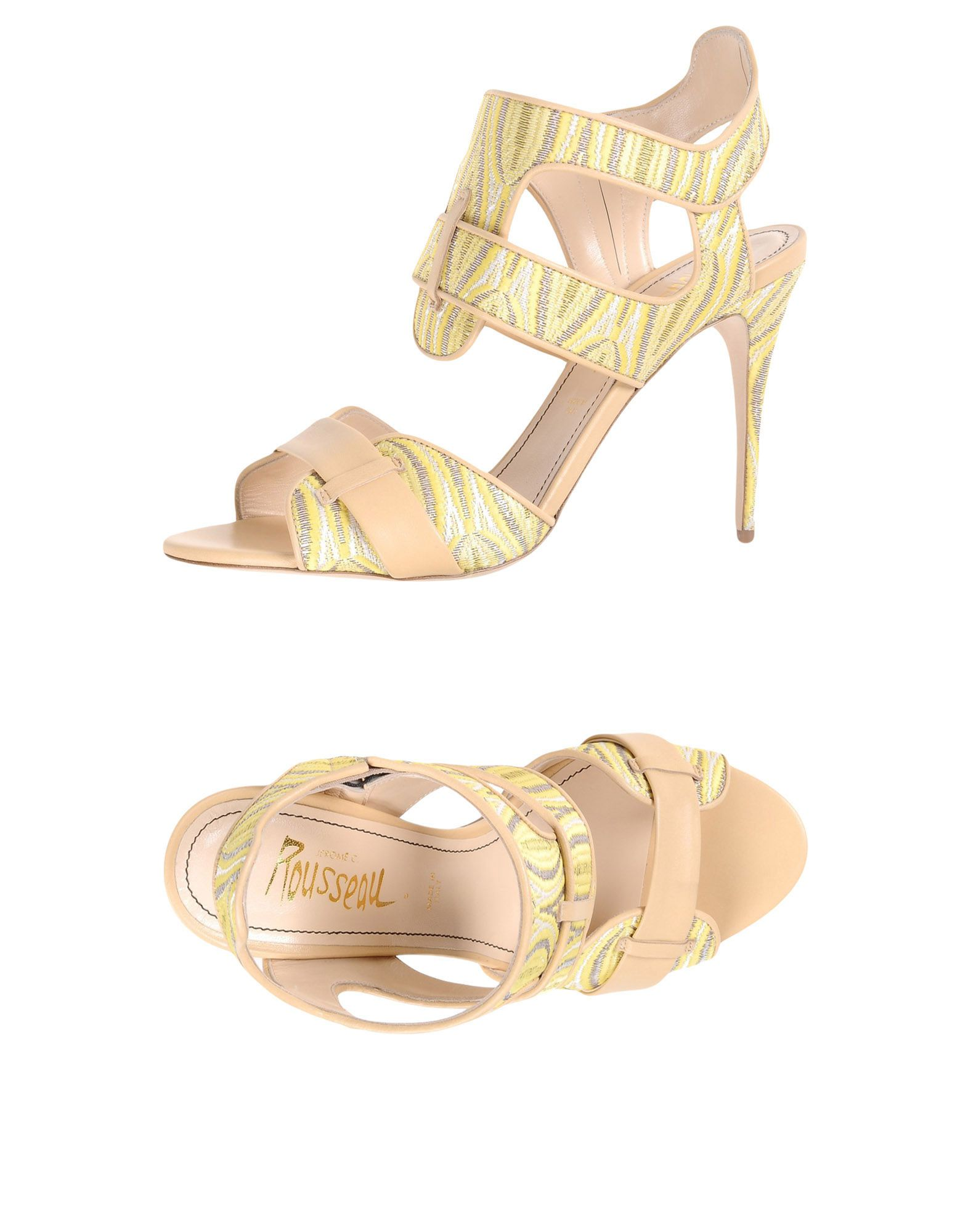 JEROME C. ROUSSEAU Sandals in Yellow