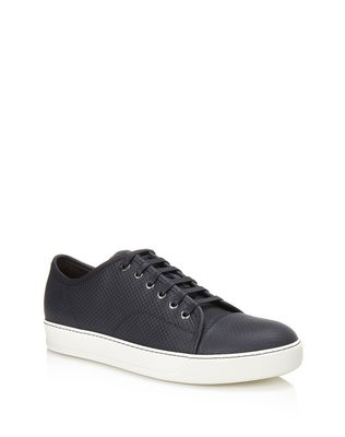 LANVIN DBB1 SUEDE CALFSKIN SNEAKERS Sneakers U f