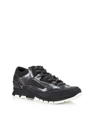 LANVIN LEATHER CROSS-TRAINERS Sneakers U f