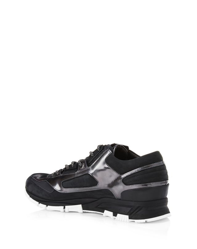 LANVIN LEATHER CROSS-TRAINERS Sneakers U d