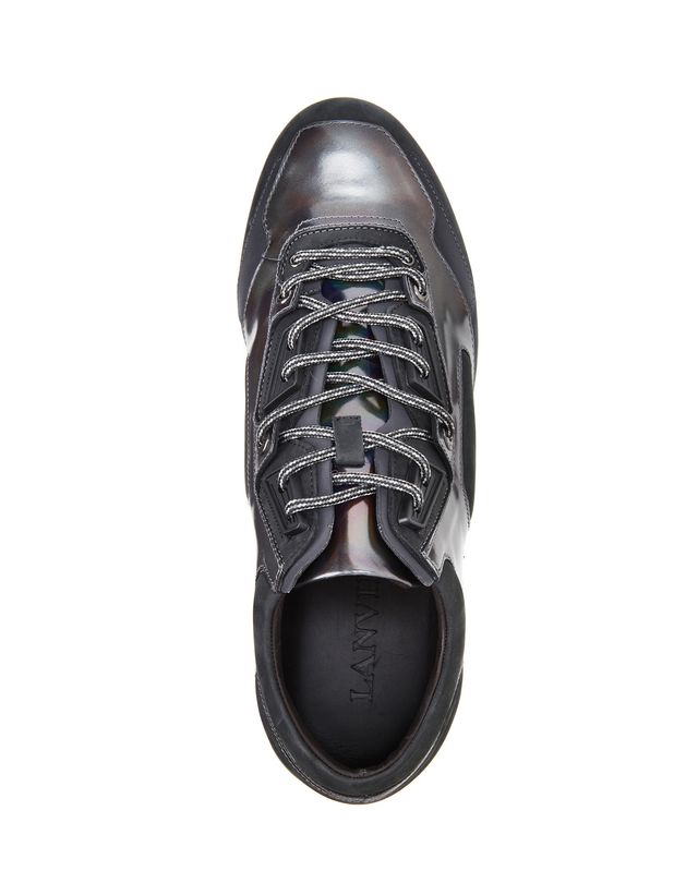 LANVIN LEATHER CROSS-TRAINERS Sneakers U r