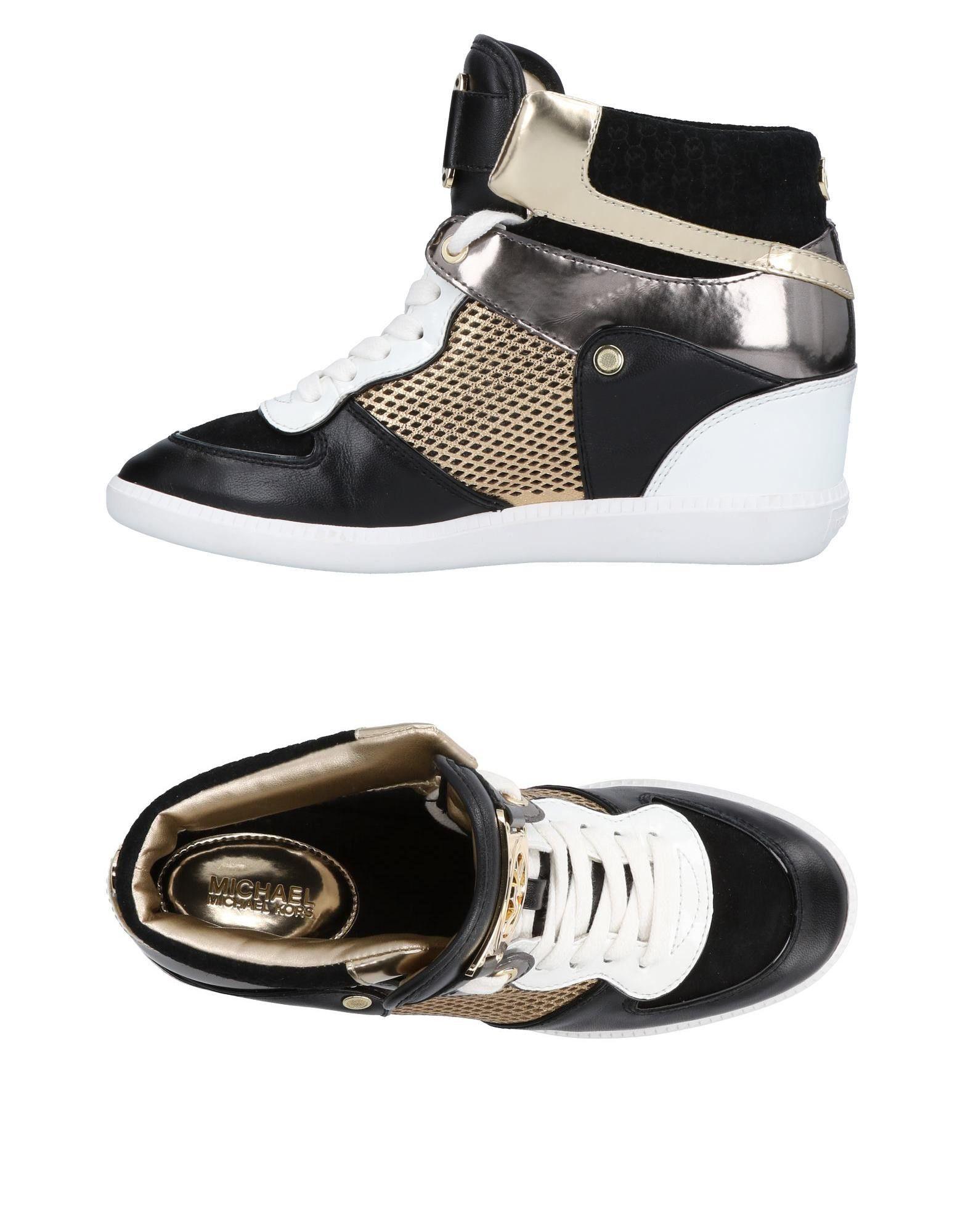 MICHAEL  KORS Высокие кеды  кроссовки