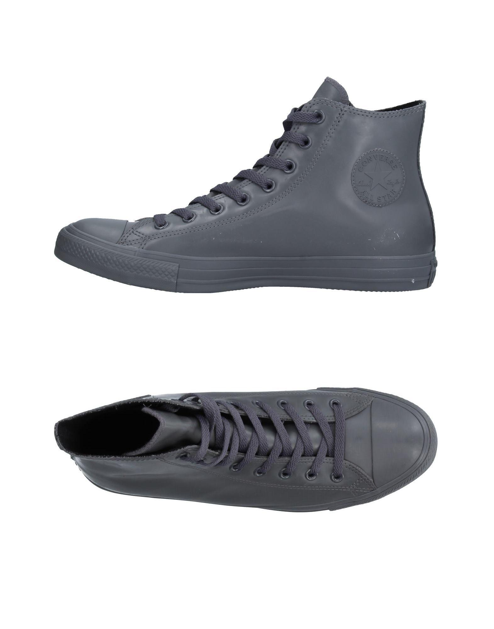 CONVERSE ALL STAR Herren High Sneakers & Tennisschuhe Farbe Grau Größe 4