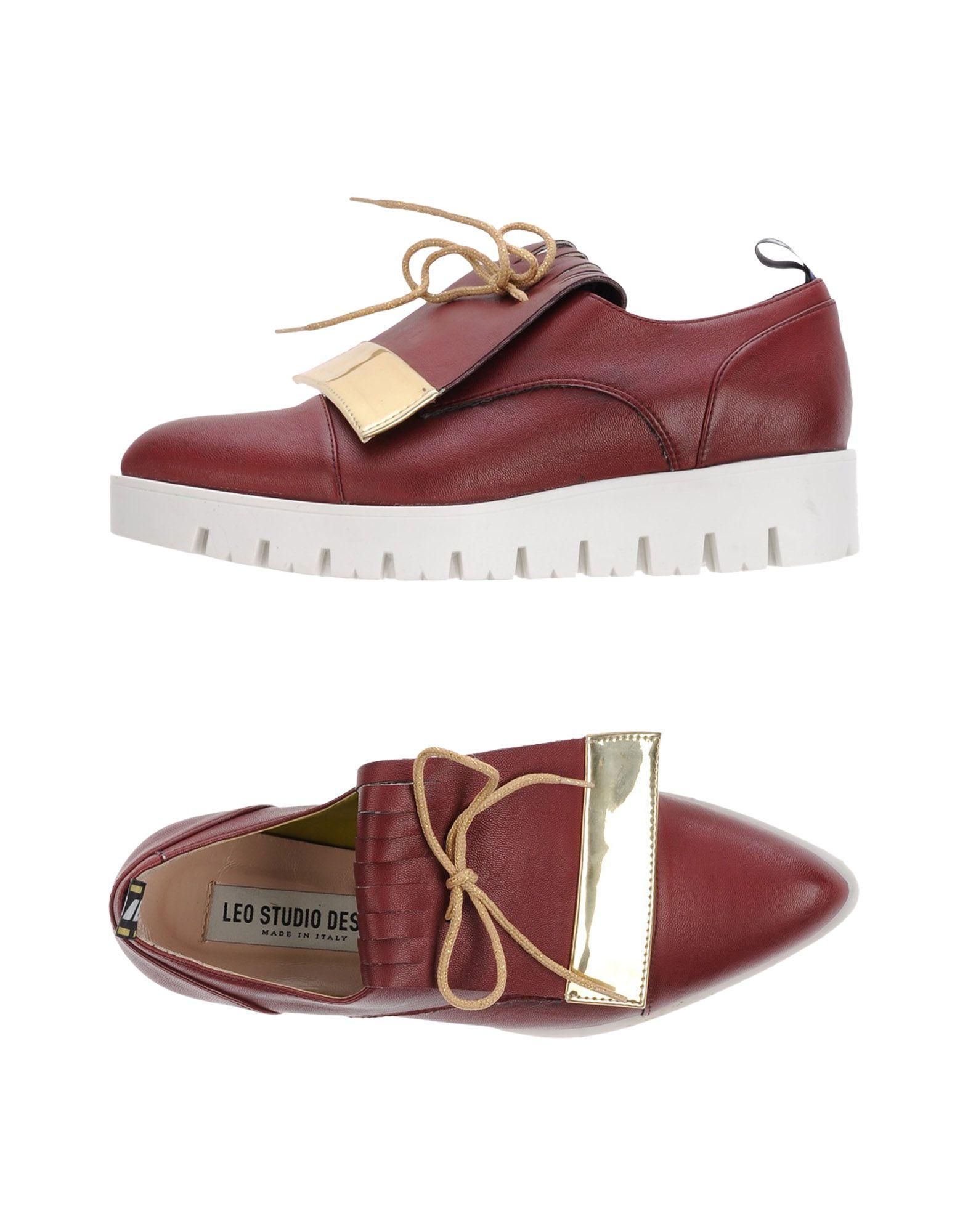 LEO STUDIO DESIGN Обувь на шнурках my studio обувь на шнурках