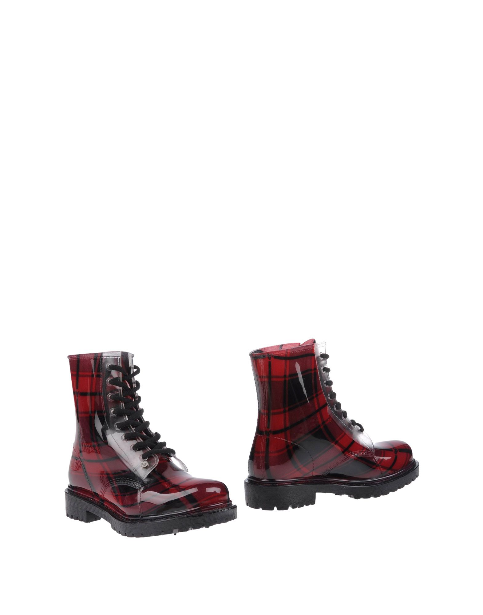 G SIX WORKSHOP Ankle Boots in Maroon