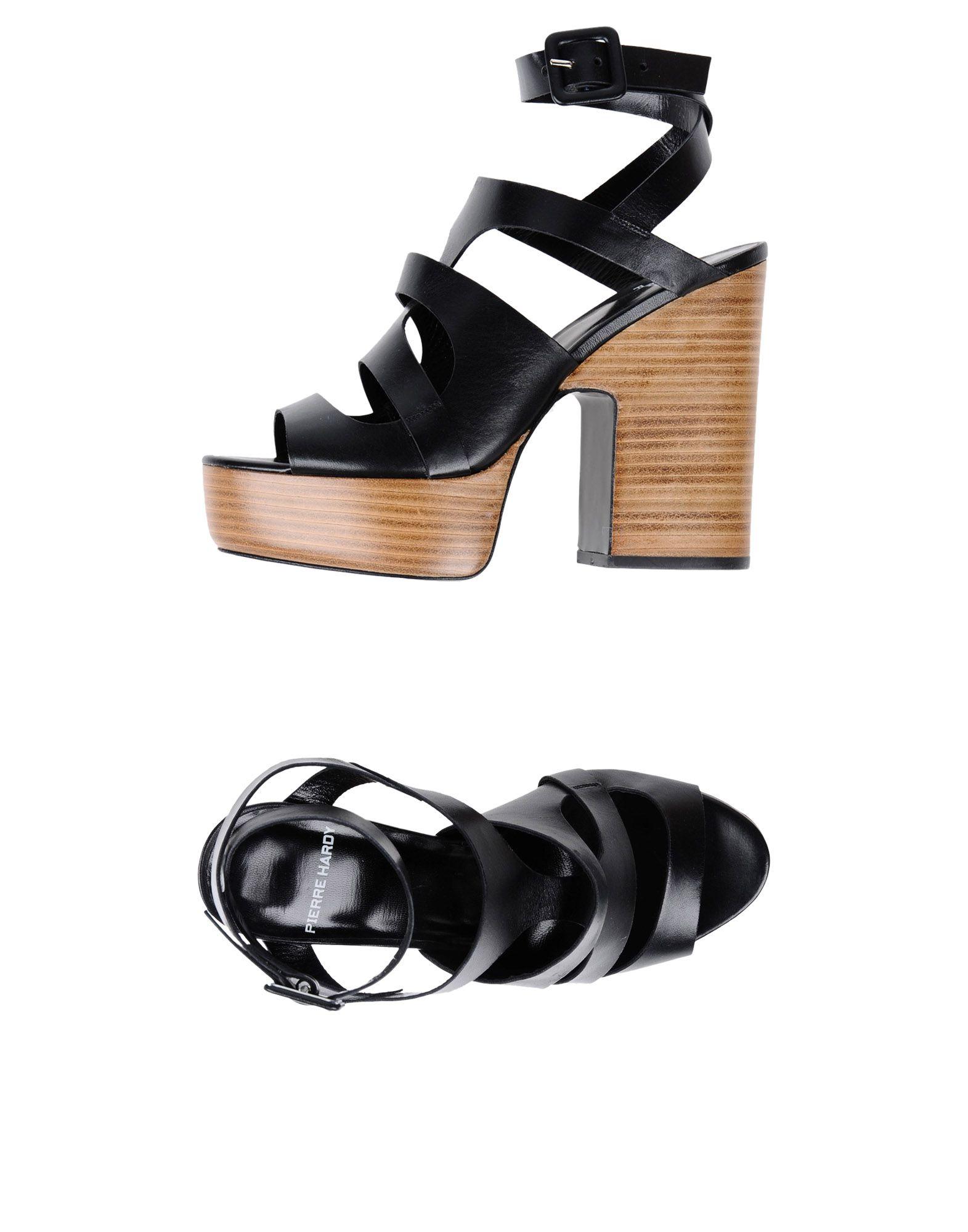 PIERRE HARDY Сандалии pierre hardy обувь на шнурках
