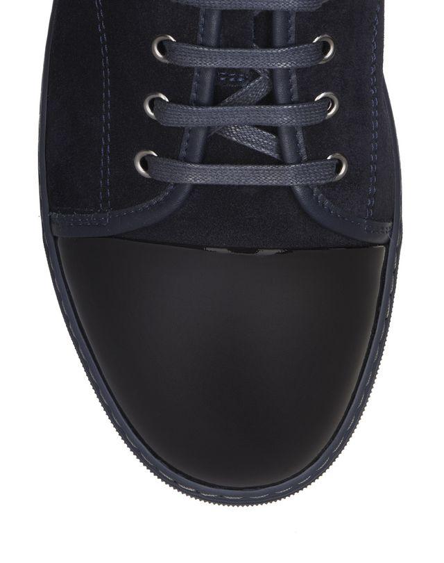 LANVIN DBB1 SUEDE CALFSKIN SNEAKER Sneakers U e