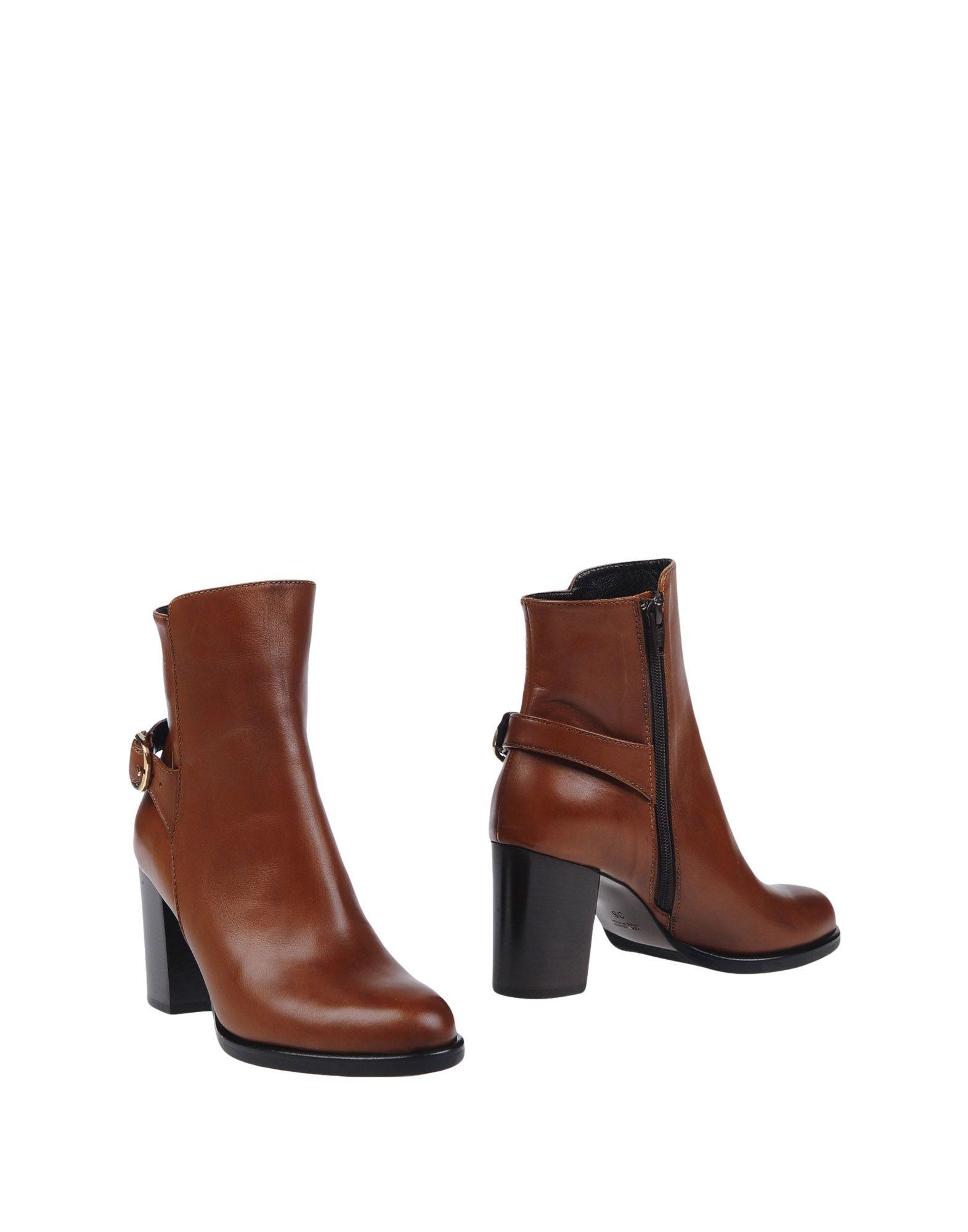 LA SELLERIE Полусапоги и высокие ботинки полусапоги la grandezza la grandezza la051awuzp58