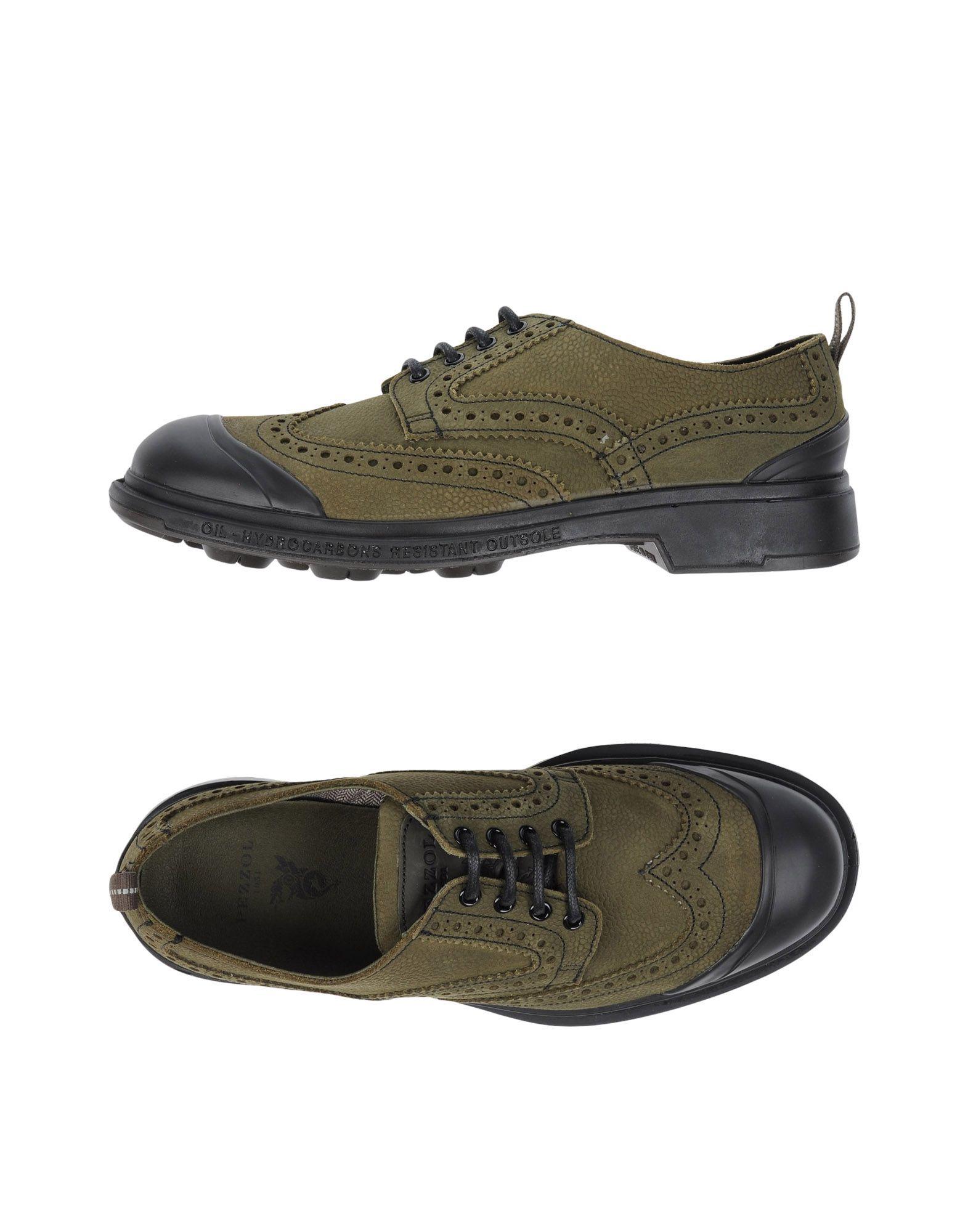 PEZZOL 1951 Обувь на шнурках цены онлайн