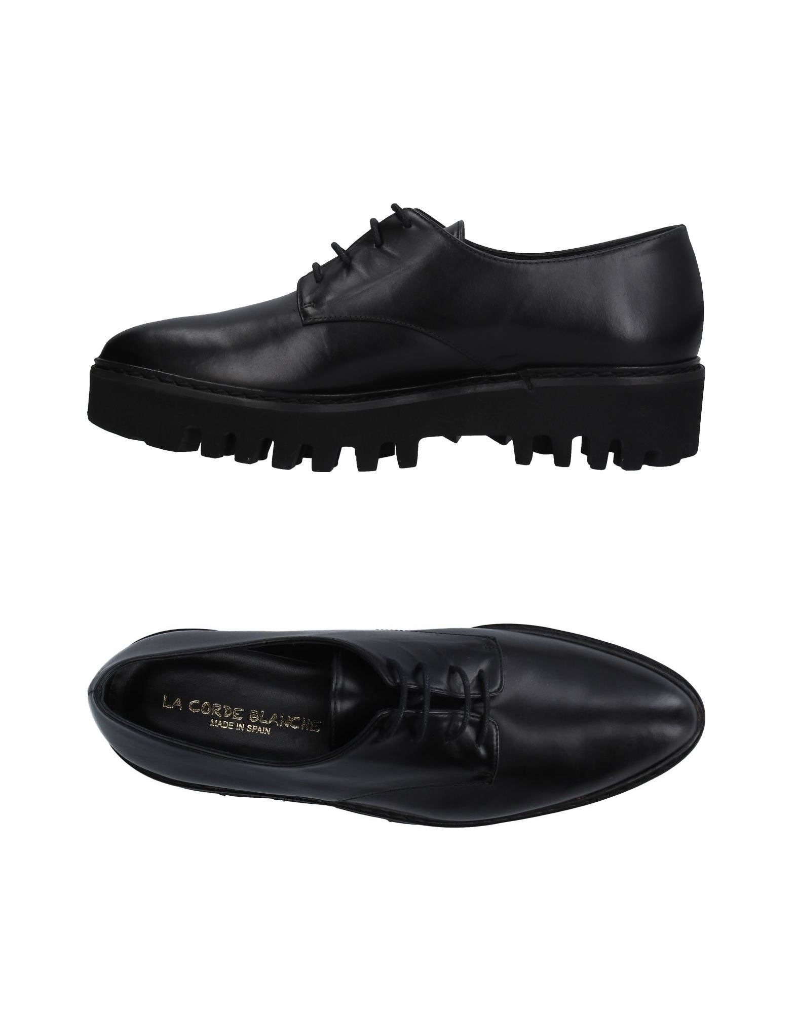 LA CORDE BLANCHE Обувь на шнурках цены онлайн