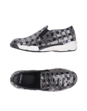 PINKO Damen Low Sneakers & Tennisschuhe Farbe Schwarz Größe 7
