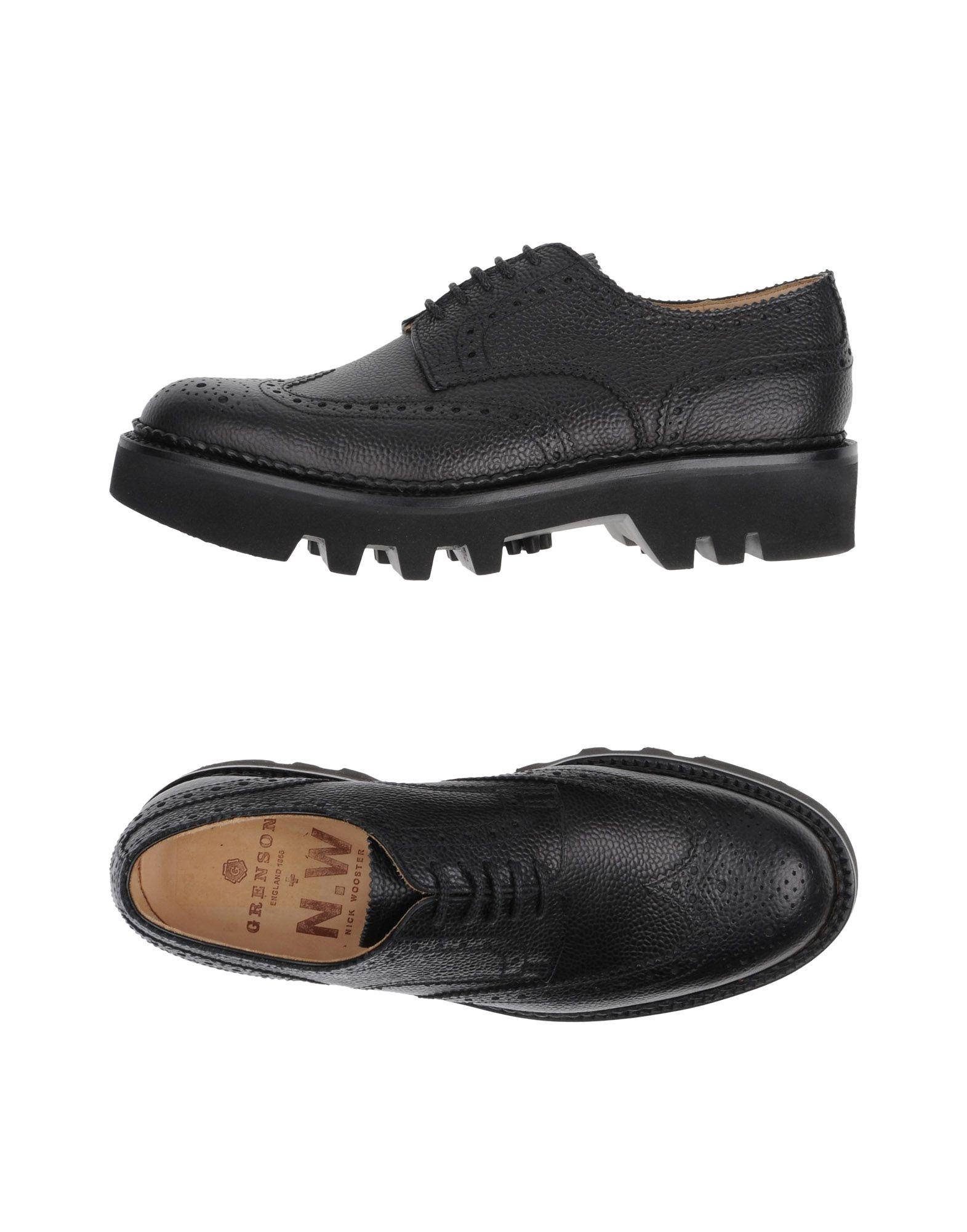 GRENSON Обувь на шнурках цены онлайн