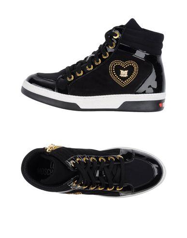 Высокие кеды и кроссовки LOVE MOSCHINO 11242402ST