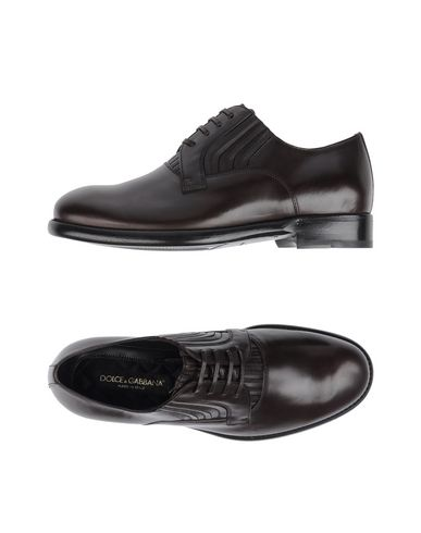 Обувь на шнурках DOLCE & GABBANA 11242951FT