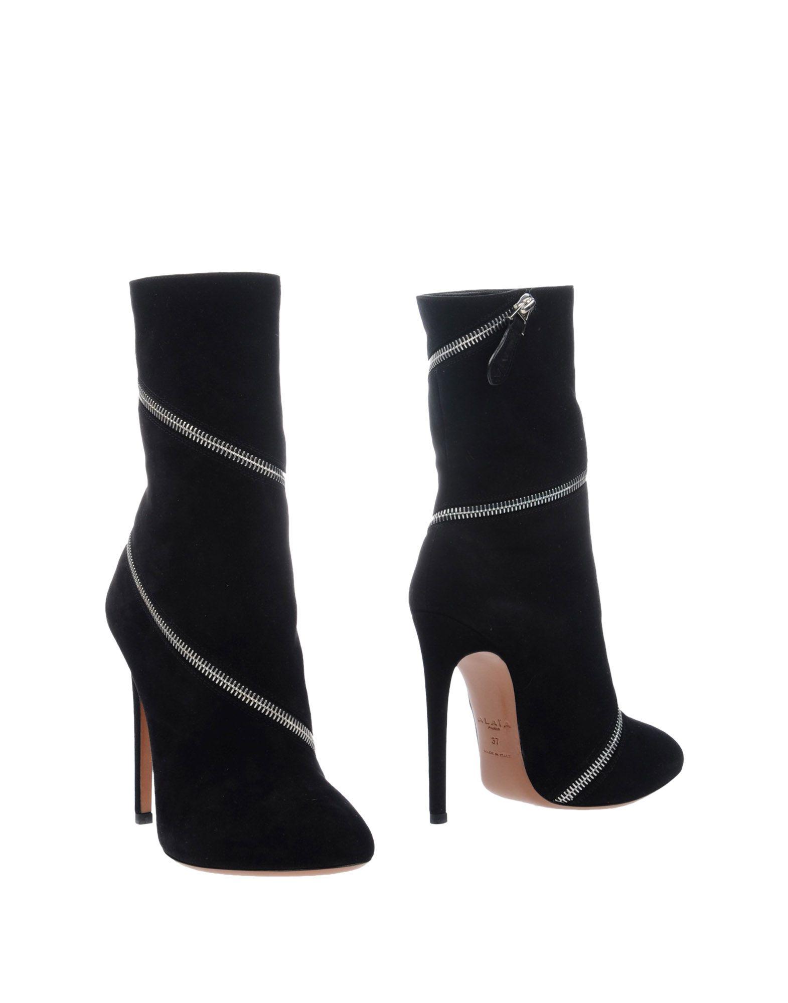 купить ALAÏA Полусапоги и высокие ботинки дешево