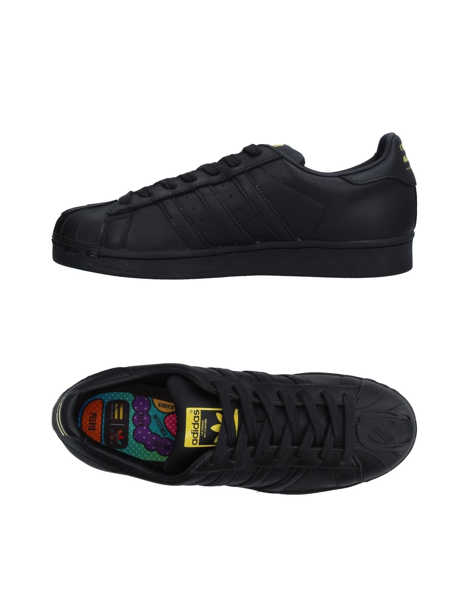ADIDAS ORIGINALS by PHARRELL WILLIAMS Низкие кеды и кроссовки adidas x pharrell little kids superstar supercolor