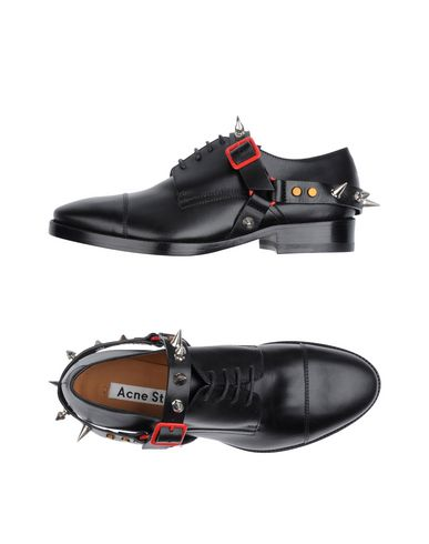 цена  ACNE STUDIOS Обувь на шнурках  онлайн в 2017 году