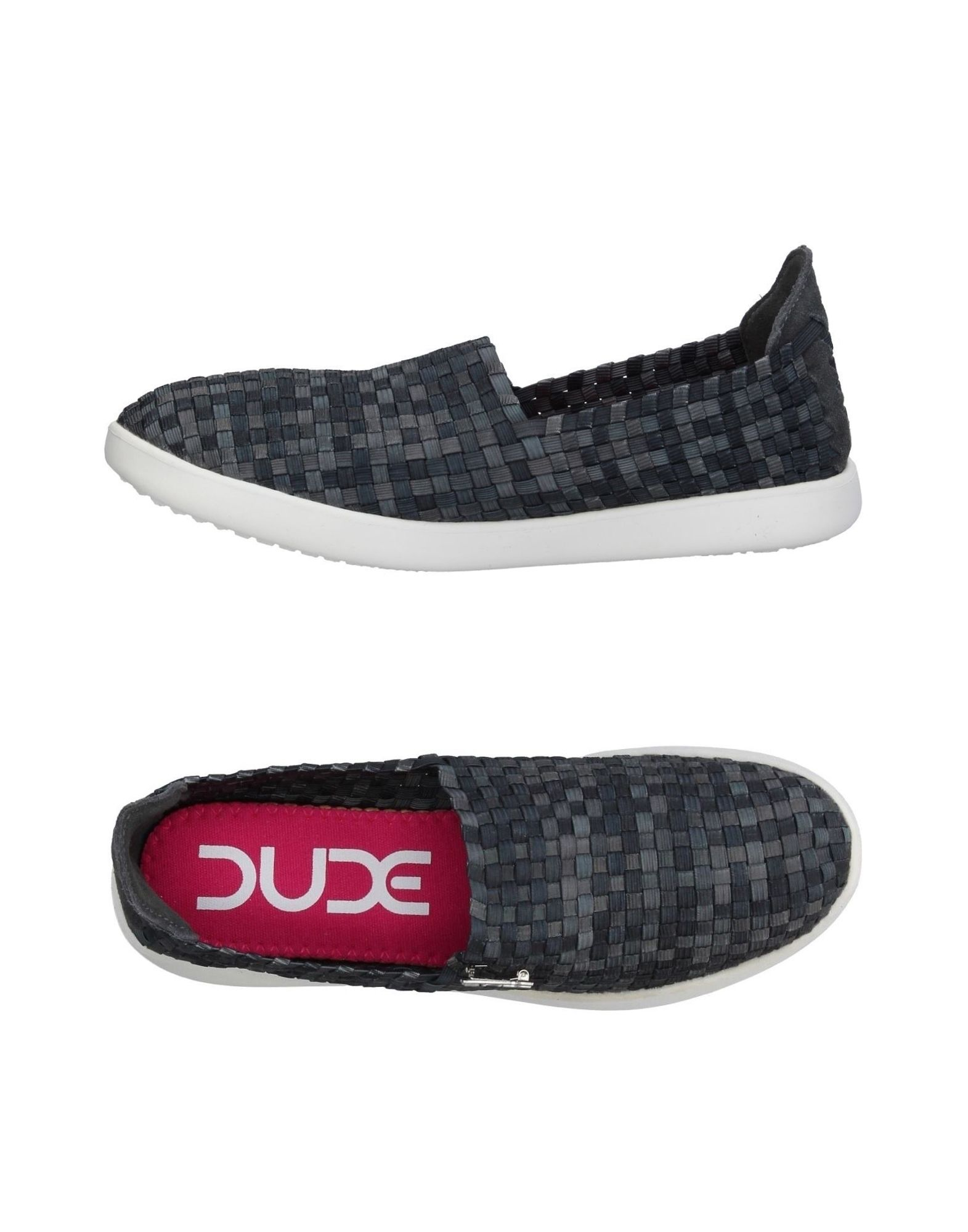 《送料無料》HEY DUDE SHOES メンズ スニーカー&テニスシューズ(ローカット) 鉛色 40 ポリエステル 50% / ポリウレタン 50% / 革