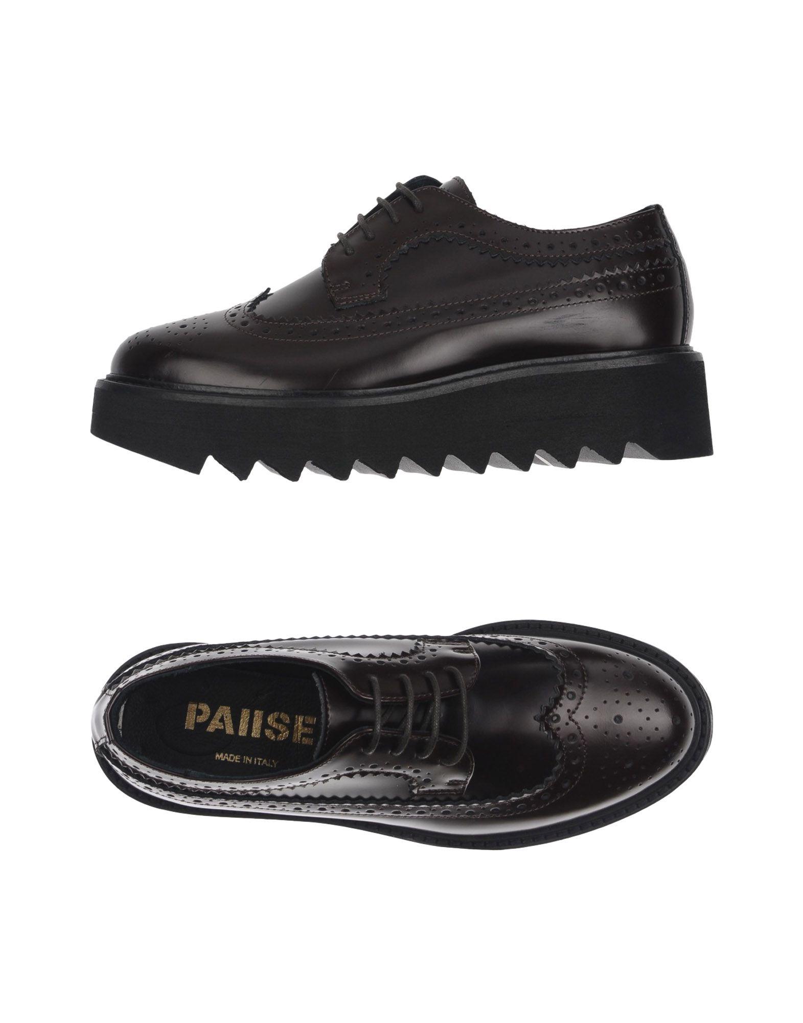 PAUSE Обувь на шнурках la pause