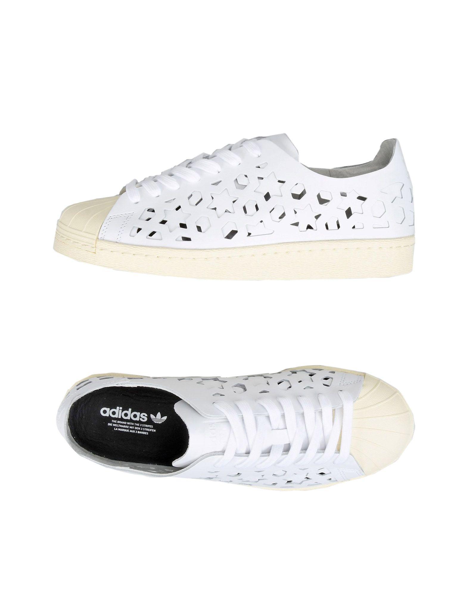 ADIDAS ORIGINALS Низкие кеды и кроссовки adidas originals superstar w