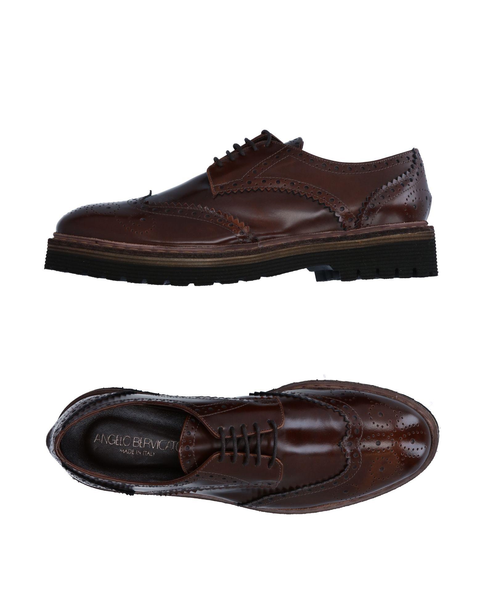ANGELO BERVICATO Обувь на шнурках цены онлайн