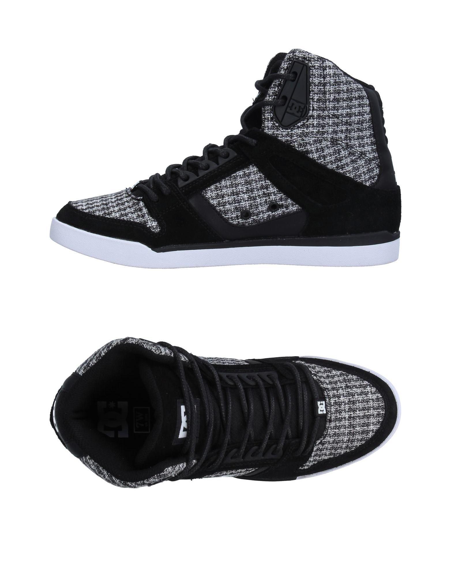 DC SHOECOUSA Высокие кеды и кроссовки кеды кроссовки высокие женские dc rebound hi chambray