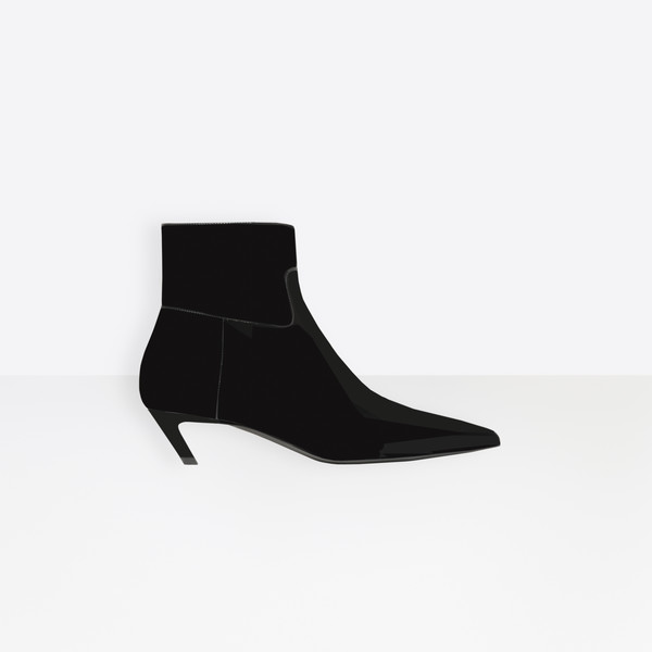 Stivaletti Slash Heel