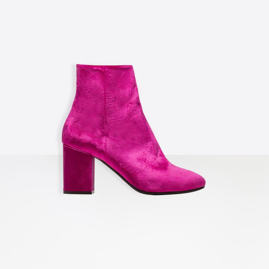 BALENCIAGA Ville Bootie Ville Shoes D f