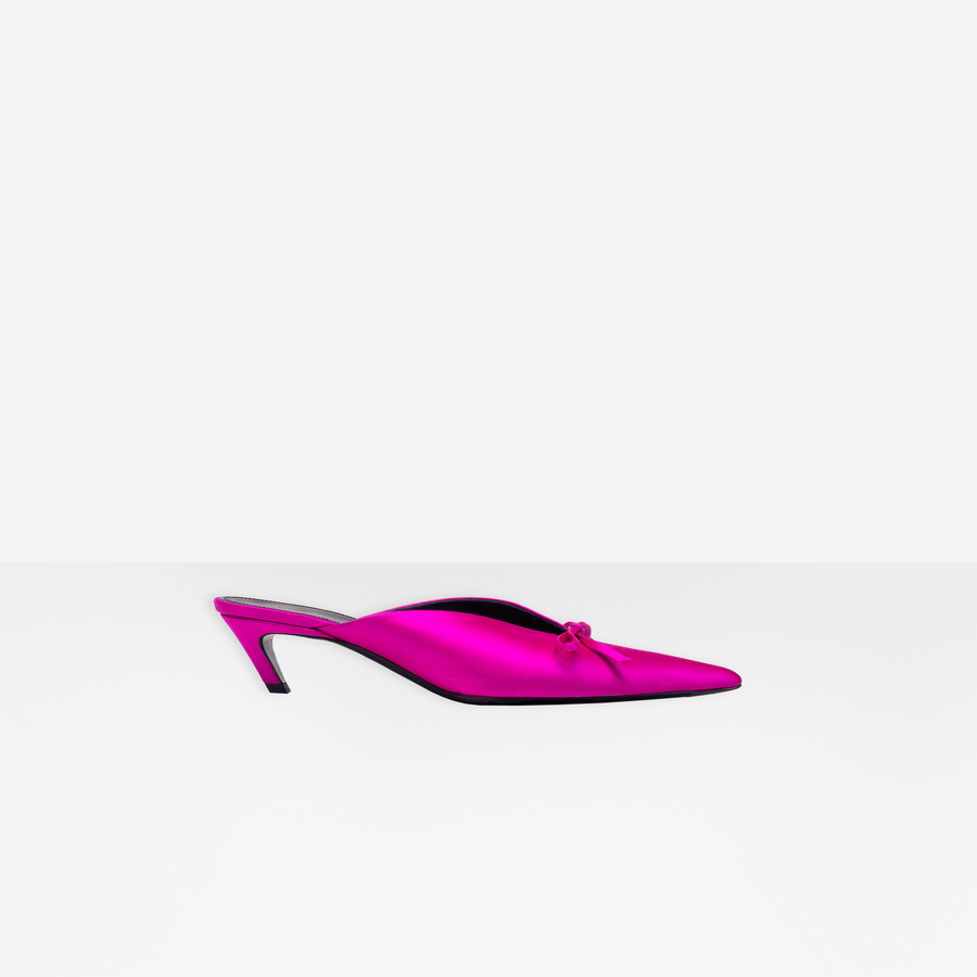BALENCIAGA Knife Mules Knife Shoes Woman f