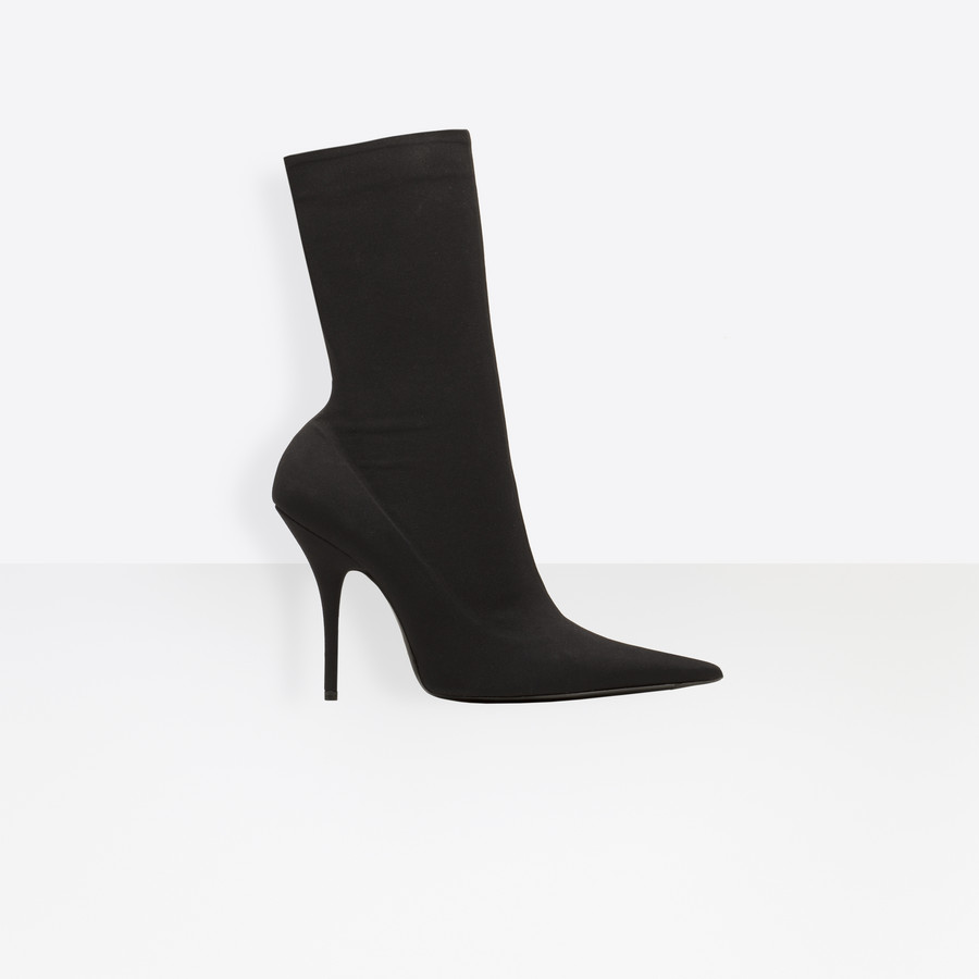 BALENCIAGA Knife Bootie Looks Shoes D f