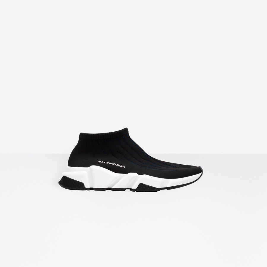 BALENCIAGA Speed Bicolor Low Trainer Speed Shoes Woman f