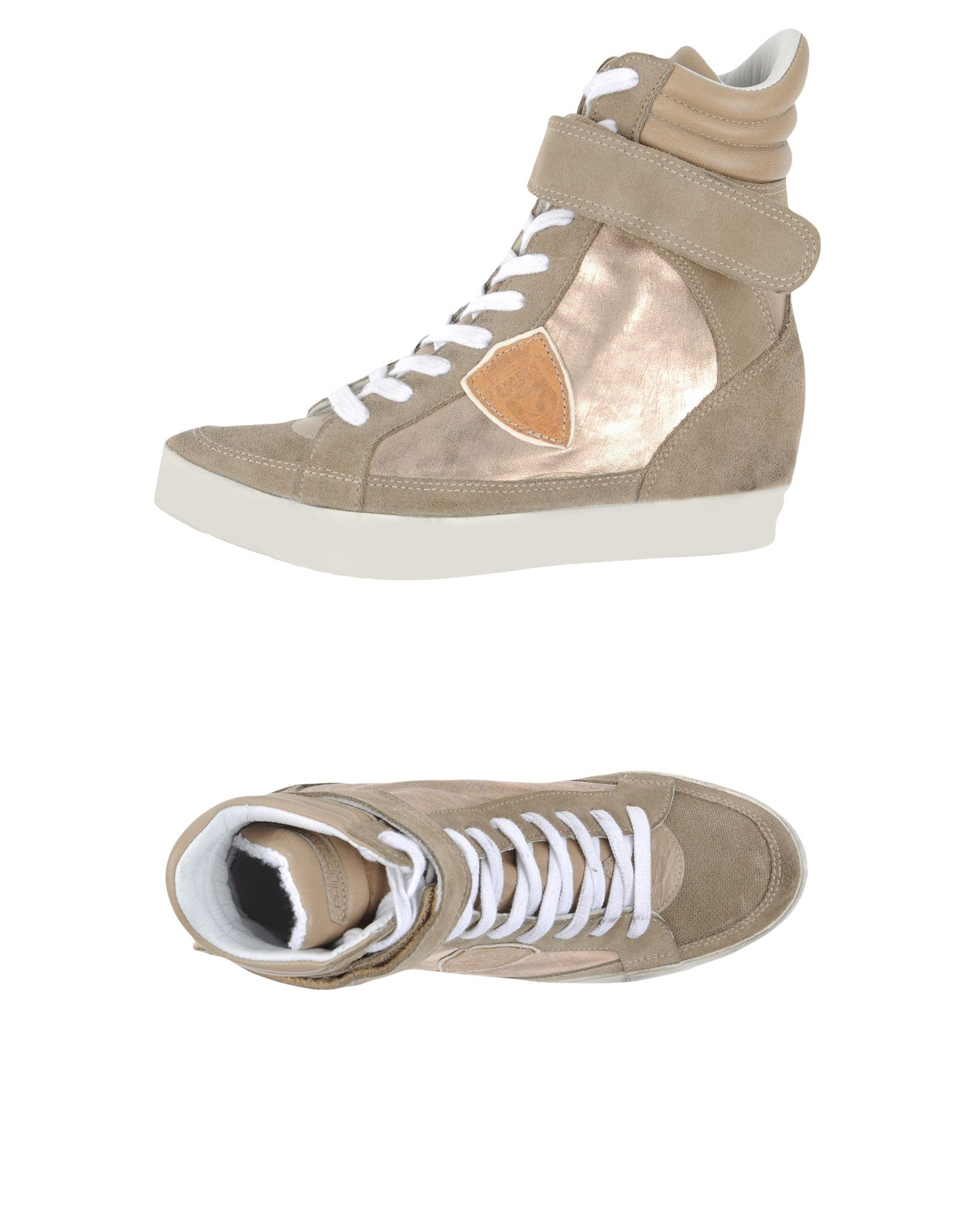 PHILIPPE MODEL Высокие кеды и кроссовки pierre hardy высокие кеды и кроссовки