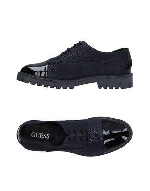 GUESS Damen Schnürschuh Farbe Dunkelblau Größe 7