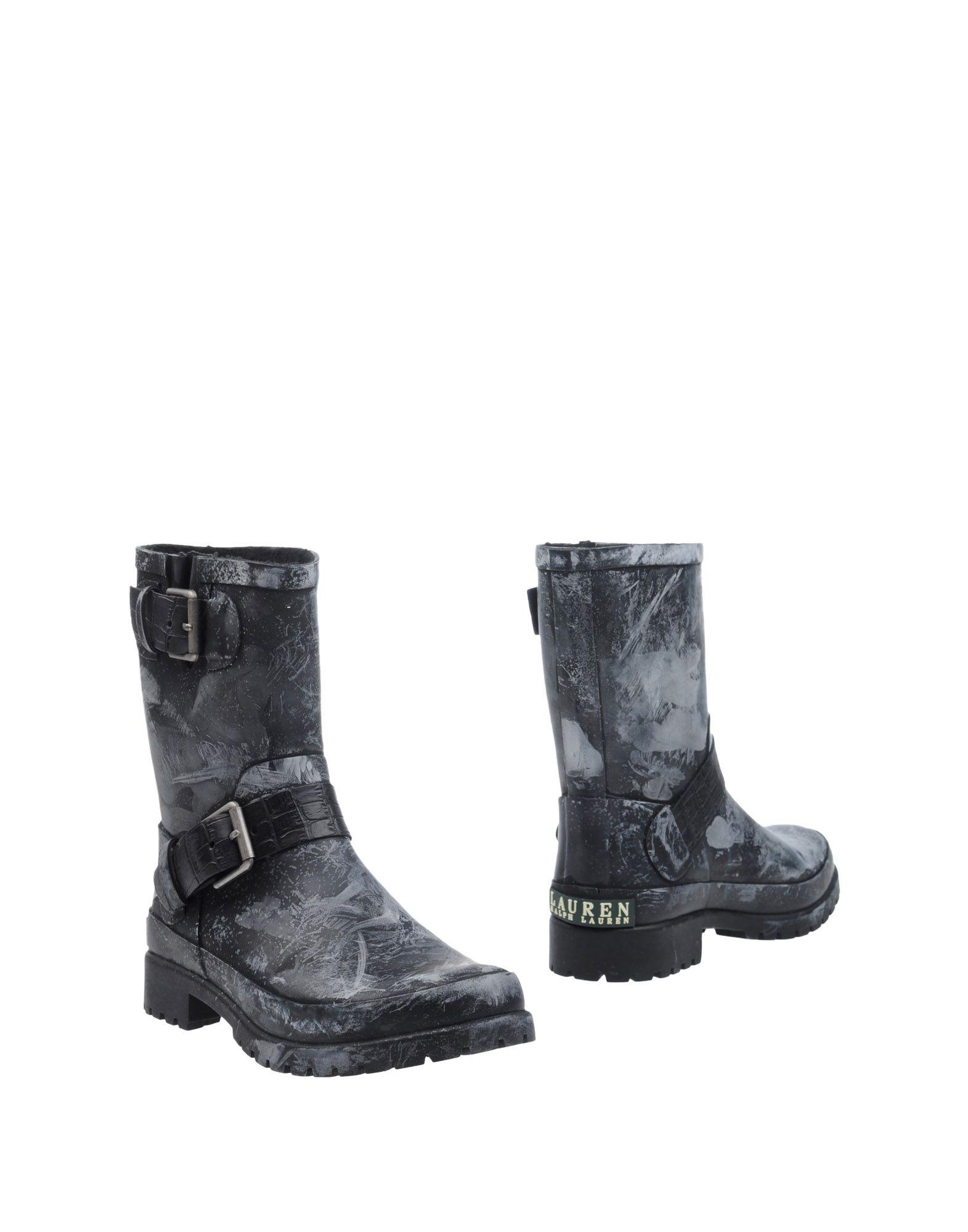LAUREN RALPH LAUREN Полусапоги и высокие ботинки куртка ralph lauren куртки непромокаемые