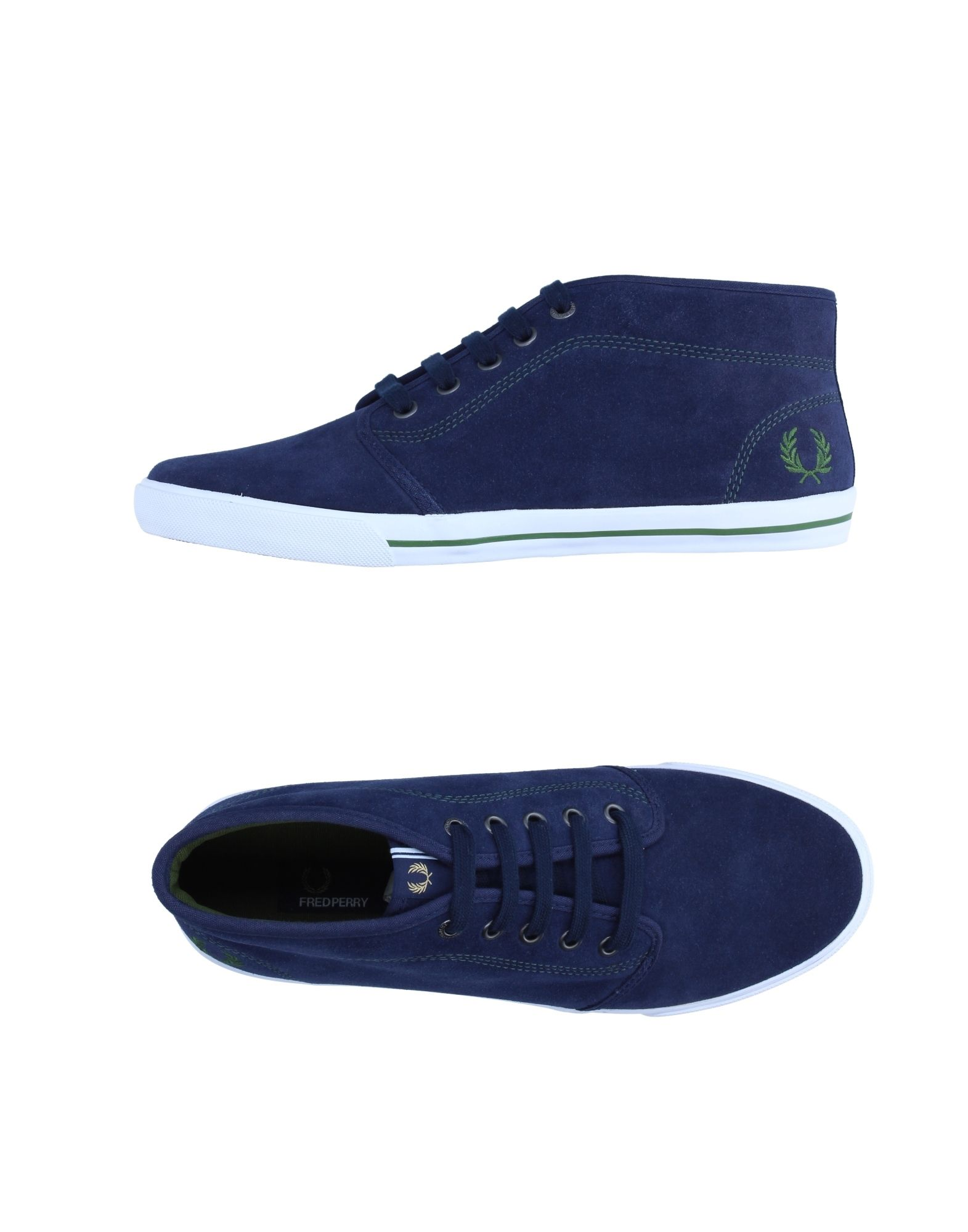 FRED PERRY Высокие кеды и кроссовки кеды кроссовки низкие fred perry kingston leather black