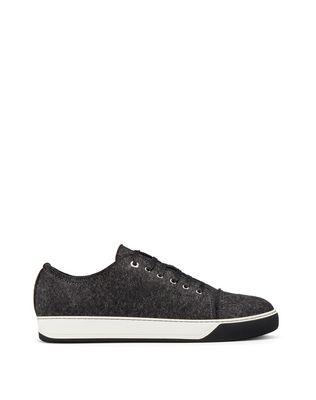 LANVIN WOOL FELT SNEAKER Sneakers U f