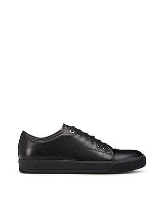 LANVIN DBB1 CAVIAR LEATHER SNEAKER Sneakers U f